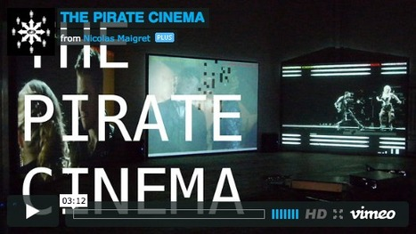 Pirate Cinema: realtime mashup of video being torrented | What's new in Visual Communication? | Scoop.it