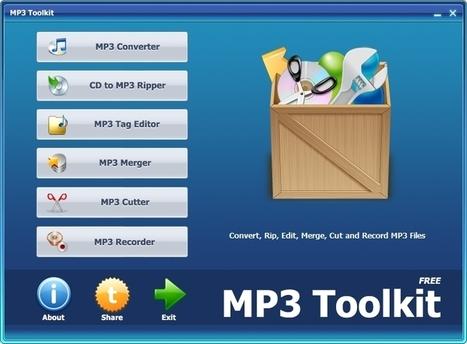 La boite à outils du MP3 | L'atelier numérique des arts | Scoop.it
