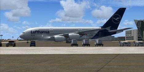 FSX/FS2004 – Lufthansa Airbus A38