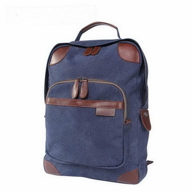 Utility blue canvas laptop tote backpack unisex from Vintage rugged canvas bags | Womens fashion | Scoop.it
