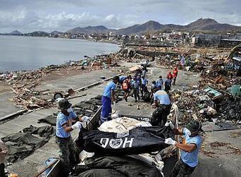 Un immense défi logistique pour les secours aux Philippines - euronews | Logistique et Transport GLT | Scoop.it