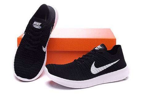 Nike Free 5.0V3 Flyknit Women Men Black White Running Shoes  nikefree-063  91de241bc