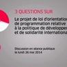 Loi d'Orientation et de Programmation Développement et Solidarité Internationale