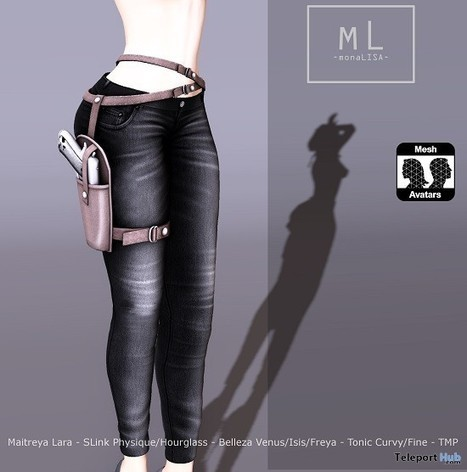 Bad Girl Jeans Group Gift by monaLISA | Teleport Hub - Second Life Freebies | Second Life Freebies | Scoop.it