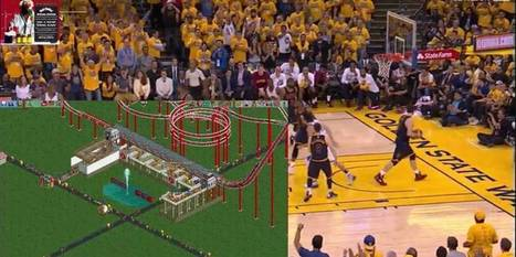 Fans watching NBA finals online follow streamer's game of Roller Coaster Tycoon | Technoculture | Scoop.it