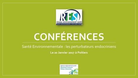Conférence en Santé Environnementale sur les perturbateurs endocriniens le 20 Janvier 2017 à Poitiers   Alimentation Santé Environnement   Scoop.it