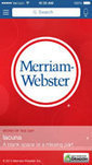Merriam-Webster Online | In the Library and out in the world | Scoop.it