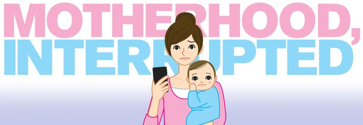 Motherhood, interrupted: brands must be sensitive to the stresses of digital parenting | Herstory | Scoop.it
