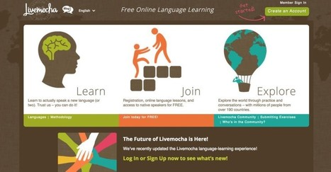 3 réseaux sociaux pour apprendre une langue étrangère | TIC et Langues | Scoop.it