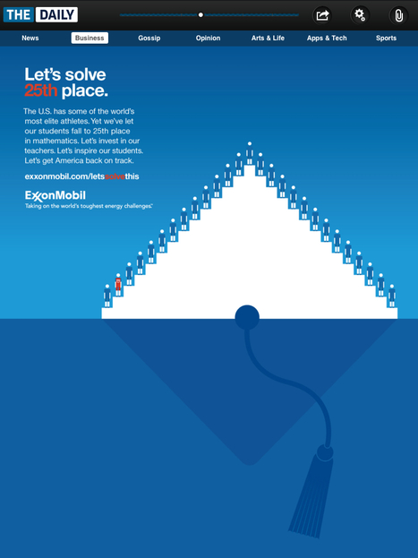 Exxon Mobil Ad from The Daily   jobseeker emotional support & tips   Scoop.it