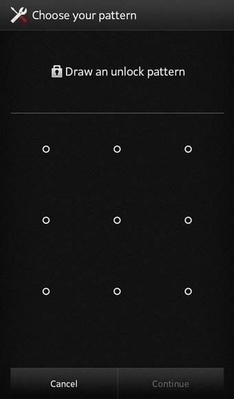 Unlock your phone when you forgot Pattern lock
