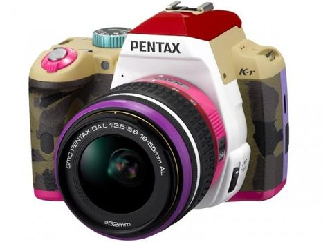 Pentax K-r 'Bonnie Pink' DSLR Announced   All Geeks   Scoop.it