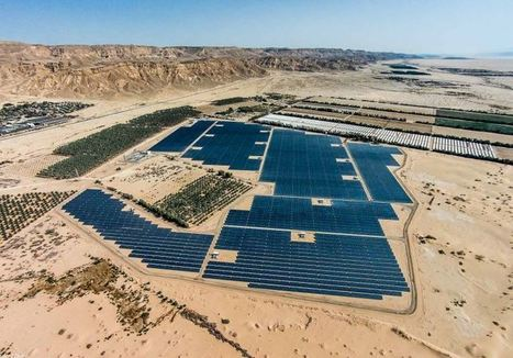 Israel's largest solar field begins flowing to the national grid | Jewish Education Around the World | Scoop.it