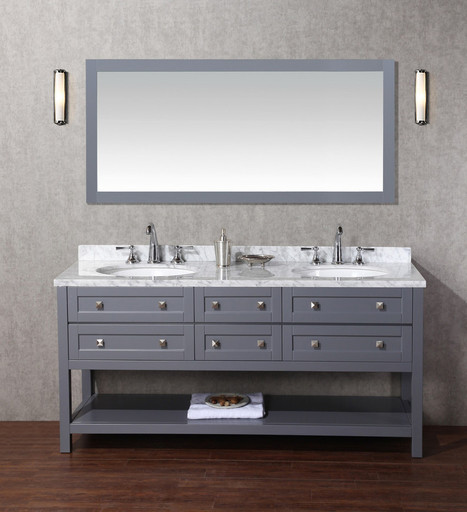 Stufurhome Marla 72 Inch Single Sink Bathroom V