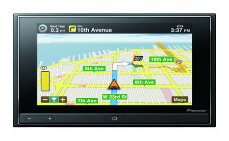 Pioneer's New AppRadio Adds iPhone Apps To Your Car | All Geeks | Scoop.it