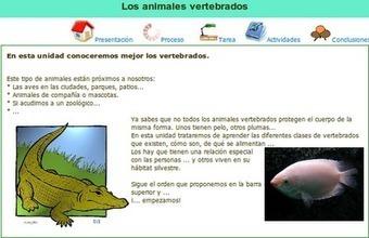 APRENDER ES DIVERTIDO: LOS ANIMALES VERTEBRADOS ... | Sexto Primaria | Scoop.it