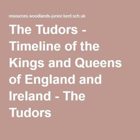 Primary Homework Help Tudor Timeline Zasisand