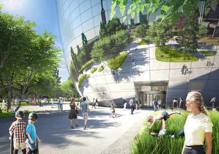 MVRDV's Reflective 'Wunderkammer' in Rotterdam is Given the Green Light | sustainable architecture | Scoop.it