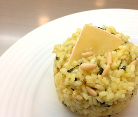 Risotto de manjericão e pinhões | Foodies | Scoop.it
