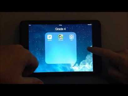 How to Hide iPad Apps and Put Folders in a Folder! - Jonathan Wylie | Trends in ICT | Scoop.it
