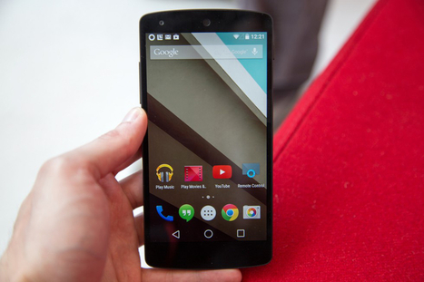 How to install Google's awesome Android L update right now | Technology and Gadgets | Scoop.it