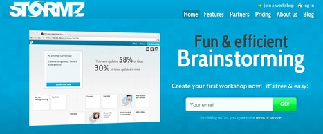 Stormz. Outil de brainstorming collaboratif. | Collaboration en ligne et communication interne | Scoop.it