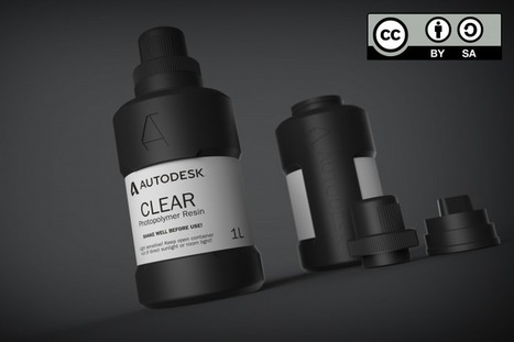 Autodesk Open Sources Their 3D Printer Resin – Providing Recipe to All & Opening the Door to New Materials | Peer2Politics | Scoop.it