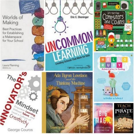 Literature Supporting Coding and the Makerspace Movement - Children's Books Daily... | My Tools for school | Scoop.it