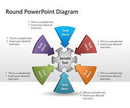 free round powerpoint diagram free powerpoint