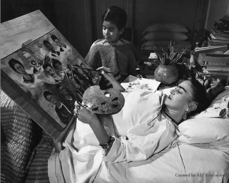 Frida Kahlo a 106 años de su nacimiento   Educación 2017   Scoop.it