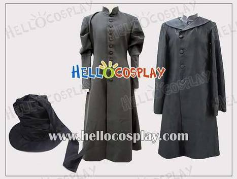 Black Butler Cosplay Costume Undertaker Coat