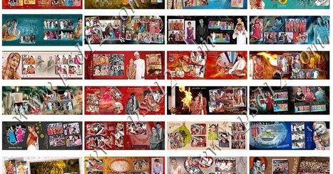 10x28 Vidhi Wedding Photo Album Templates Vol 2