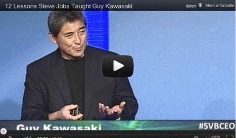 12 Lessons Steve Jobs Taught Guy Kawasaki   Paywalls   Scoop.it