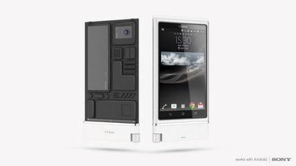 Un concept de smartphone modulable pour Sony - ... | digistrat | Scoop.it