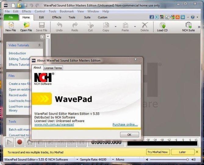 Wavepad master edition registration code | Wavepad Audio Editor 9