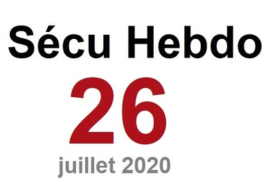 Sécu Hebdo 26 du 25 juillet 2020