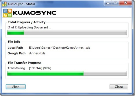 KumoSync allows you to Sync Google Drive with Local Files | Productivity Tools | Scoop.it
