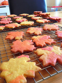 Our Cookie Journal: Rustle Up a Pile of Autumn Leaf Sugar Cookies | Cookie Baking | Scoop.it
