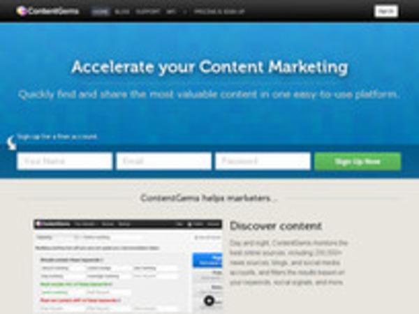 ContentGems. Outil de veille et de curation - Les outils de la veille | Curation, Veille et Outils | Scoop.it