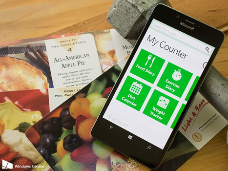 Start the New Year's right with these calories counting apps for Windows phone | mHealth- Advances, Knowledge and Patient Engagement | Scoop.it