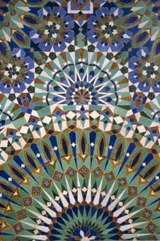 Dominant Color in Islamic Art & Architecture   Tranquility Estate   Scoop.it