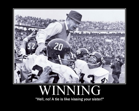 Bear Bryant Quotes | The Art of Manliness | News Insights | Scoop.it