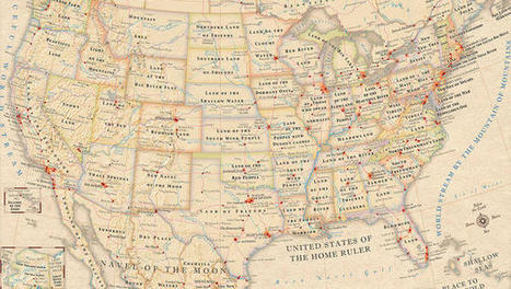 Infographic: The Literal Meaning Of Every State Name In The U.S. | English Tutor Materials and Resources | Scoop.it