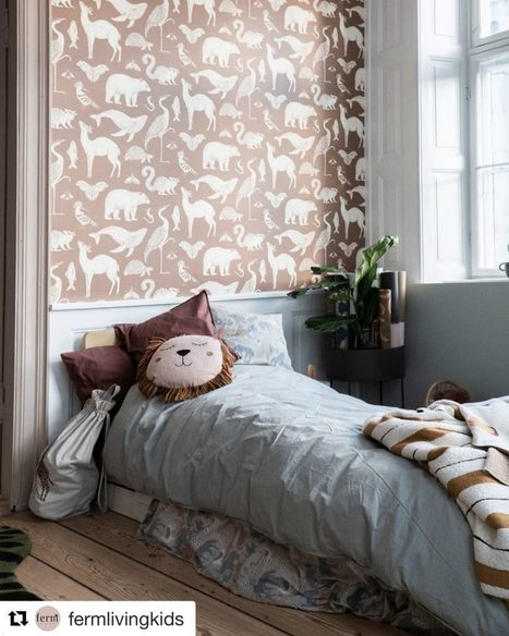 Katie Scott Wallpaper By Fermliving Wallpaper