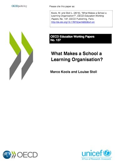 What Makes a School a Learning Organisation? - Papers - OECD iLibrary | Higher Education Teaching and Learning | Scoop.it