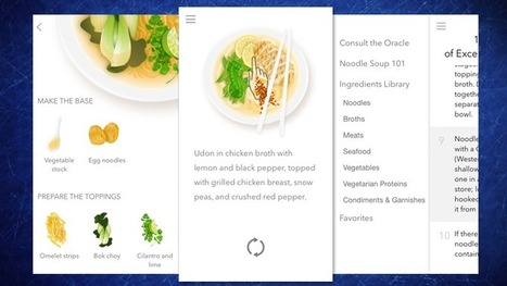 Noodler Puts Three Million Noodle Soup Recipes and Tips on Your iPhone | Bazaar | Scoop.it