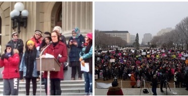 Edmonton women's march on Washington | Family-Centred Care Practice | Scoop.it