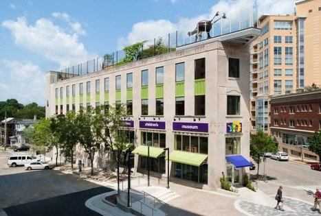 "Madison Childrens' Museum | The Kubala Washatko Architects, Inc. | ""Adaptive Reuse"" 