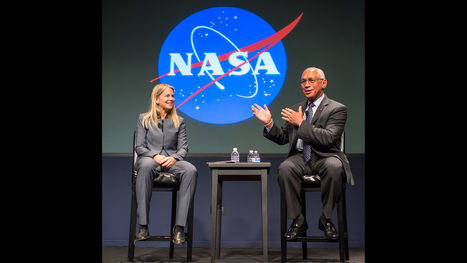 NASA says farewell to agency leaders, Charles Bolden and Dava Newman | More Commercial Space News | Scoop.it