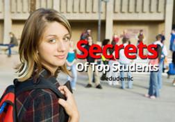 The Secrets Of Top Students - Edudemic | Blog Blasts | Scoop.it